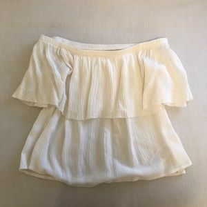 Urban Outfitters white off shoulder top